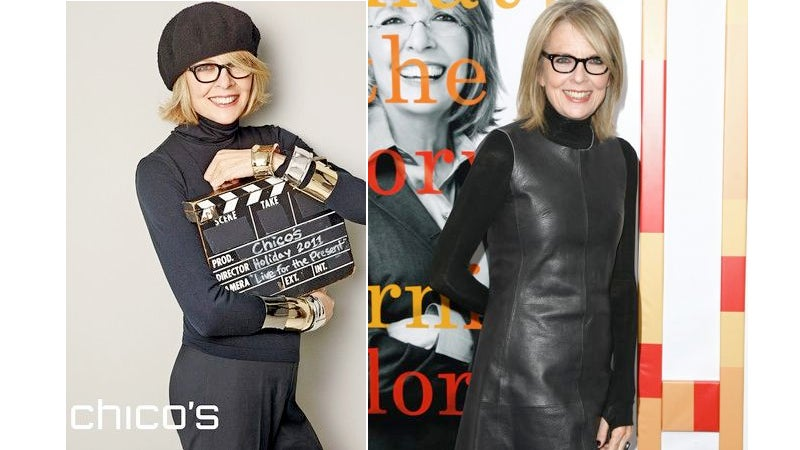 Diane Keaton Is The Next Face of Chico's