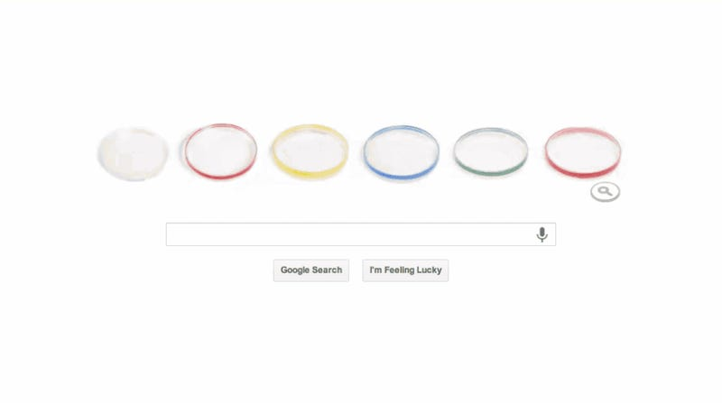 Google Honors Inventor of Petri Dish with Gross/Awesome Doodle