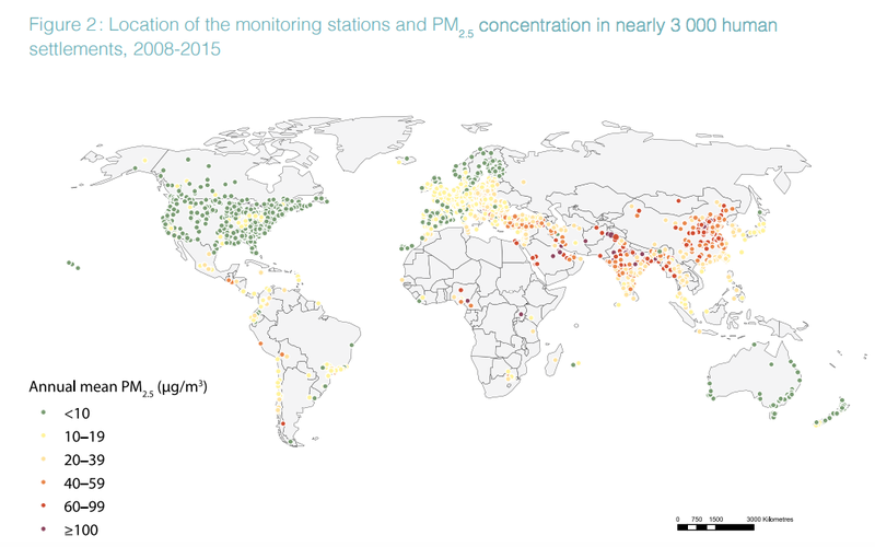 Over 90 Percent of the World Is Breathing Really Crappy Air