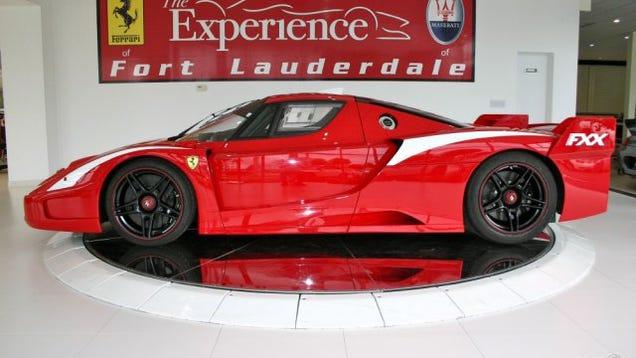 Ferrari Enzo Fxx Evolution Ferrari Fxx Evolution With