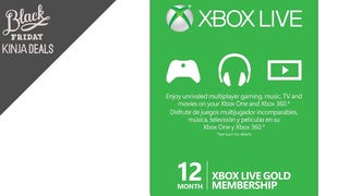 Pick Up a Year of Xbox Live Gold for Just $36 Right Now