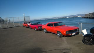 San Francisco Three-In-A-Row