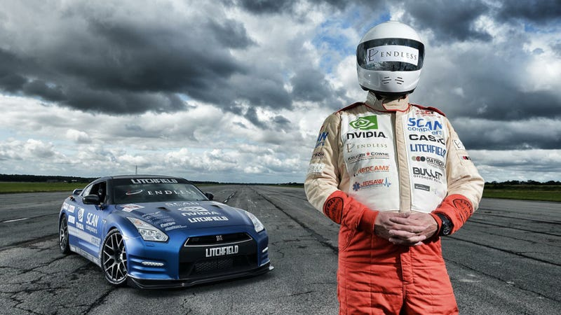 This Blind Guy Just Set A World Record And Broke The 200-MPH Mark