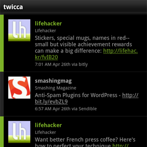 Twicca Is a Fast, Free, and Beautiful Twitter Client for Android