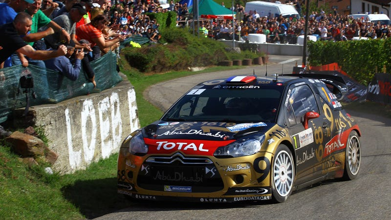 Sebastian Loeb Finished His Rally Career Upside Down