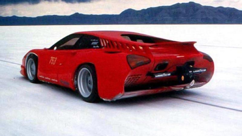 This Bizarre Ferrari Was Designed To Smash A 269 MPH Nazi Speed Record