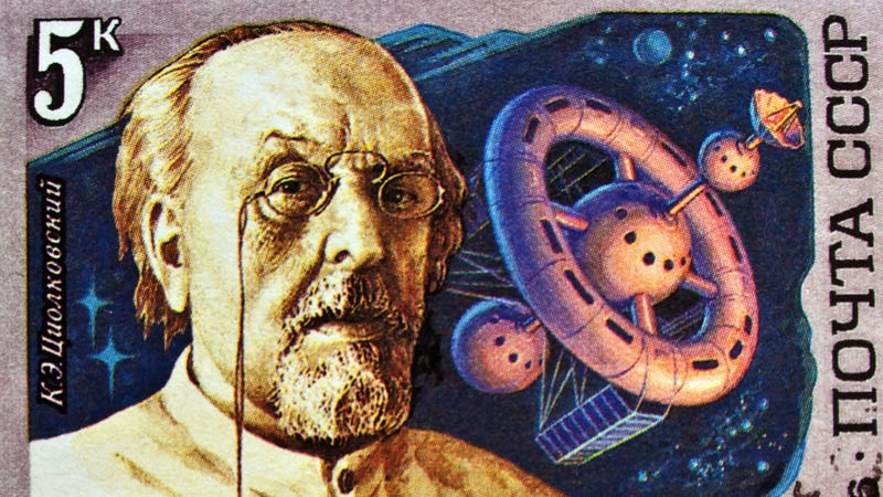Did the very first science fiction magazine appear in Russia in 1894?