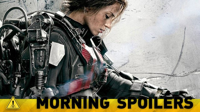 More Details From Edge of Tomorrow, and a New Look at a Godzilla Kaiju!