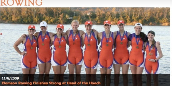 The Clemson Women's Rowing Team About To Become Famous For All The Wrong Reasons
