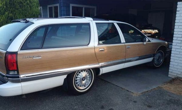 a 1992 buick roadmaster estate for 3950. Cars Review. Best American Auto & Cars Review