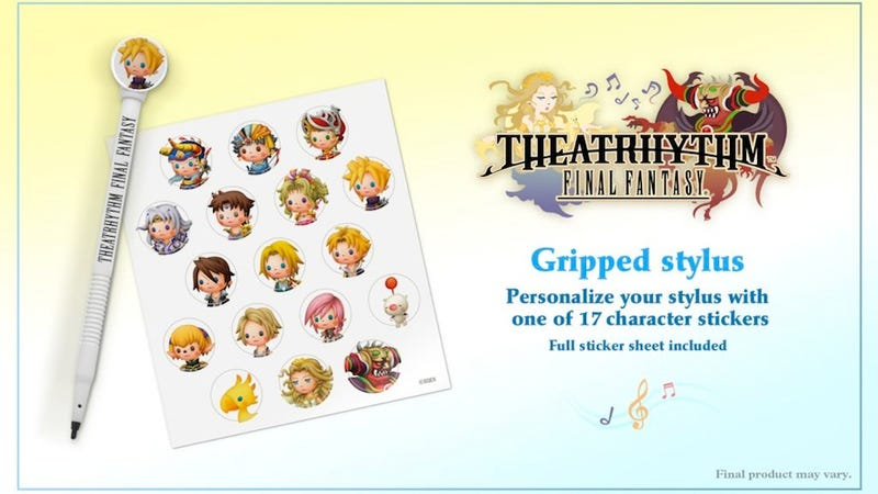 Preorder Theatrhythm Final Fantasy, Get This Adorable Stylus