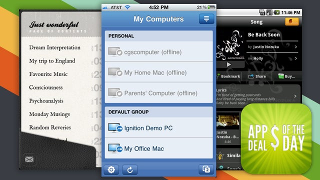 Daily App Deals: Remotely Access Your Computer with LogMeIn Ignition, Now 50% Off