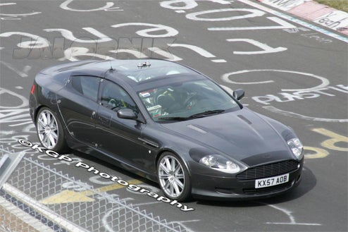 Aston Martin Rapide, Now With Glass Roof, Still With Four Doors