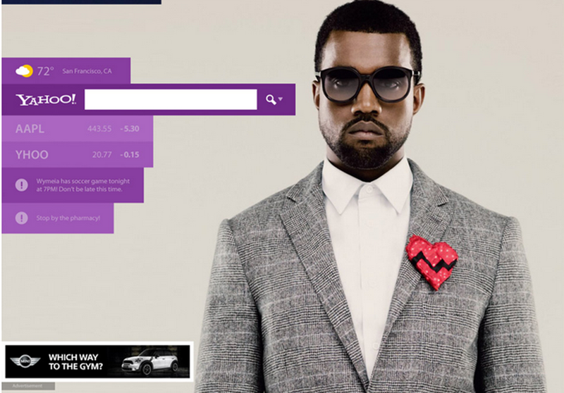 Rethinking the New Yahoo Homepage