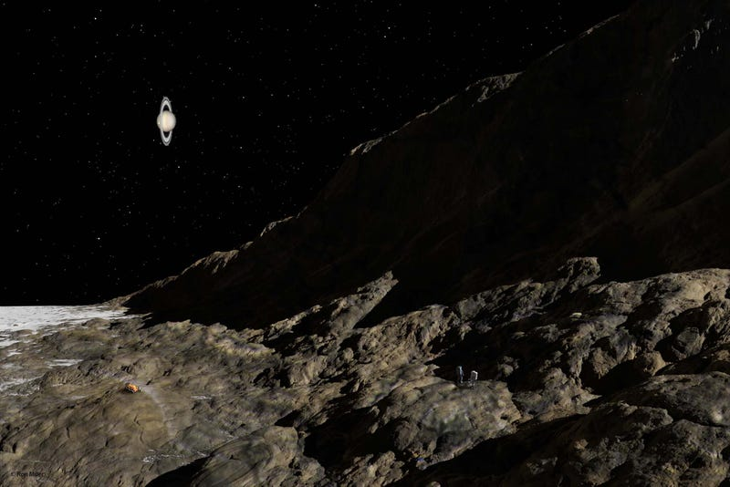 How the solar system's strangest moon, Iapetus, lost its rings