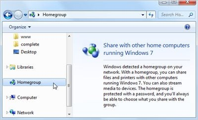 Disable Windows 7's Homegroup Feature to Save System Resources