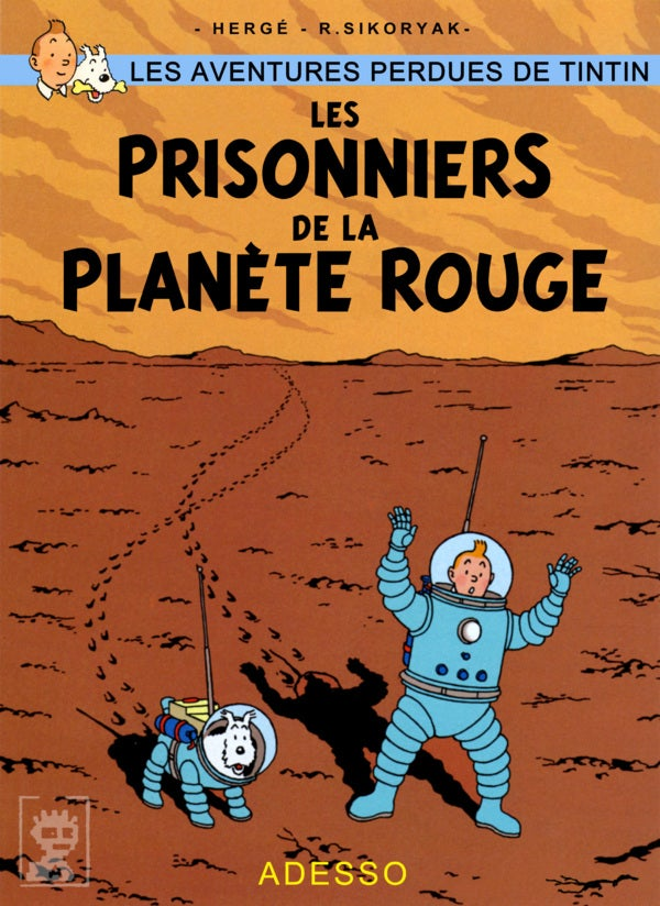 The lost adventures of Tintin take us to Tatooine and Mars