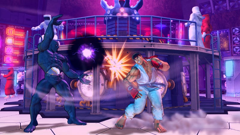Here Are Your New Street Fighter IV Screens