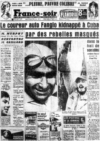 How Fidel Castro kidnapped the world's greatest racer