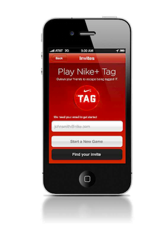 Stop Being Lazy And Come Play Nike+ Tag With Your Friends