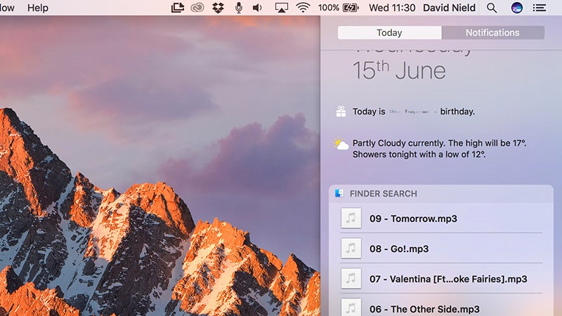 MacOS Sierra First Impressions: What It's Like to Use Siri on a Mac