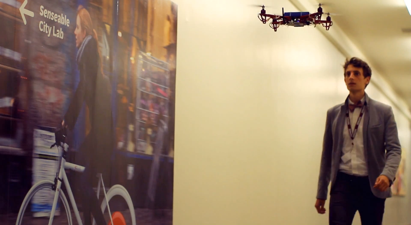 Meet the Drone That's Guiding New Students Around MIT This Fall