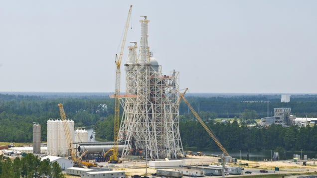 NASA Spent $349 Million on a Test Tower It Has No Plans to Use