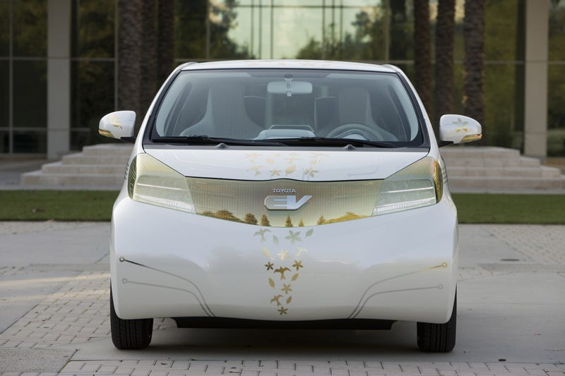 Toyota FT-EV Concept: An Electric Car For The Tiny Masses