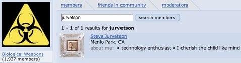 Steve Jurvetson's military buildup
