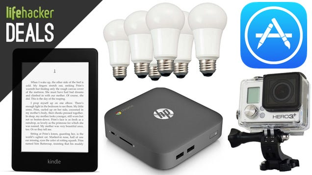 Deals: $20 off a Paperwhite, GoPro Black, 5TB External, Chrome OS