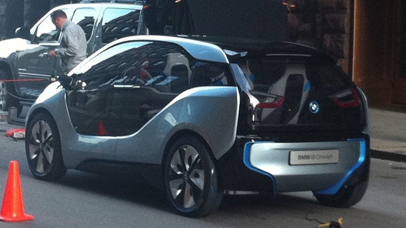 BMW i3 Concept: First Photos
