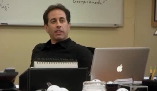 Jerry Seinfeld Upgrades Classic Mac with iMac