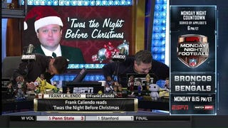 "Frank Caliendo Does ""The Night Before Christmas"" As 10 Different ESPNers"