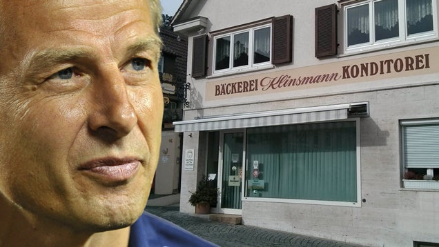 Where Jürgen Klinsmann Comes From