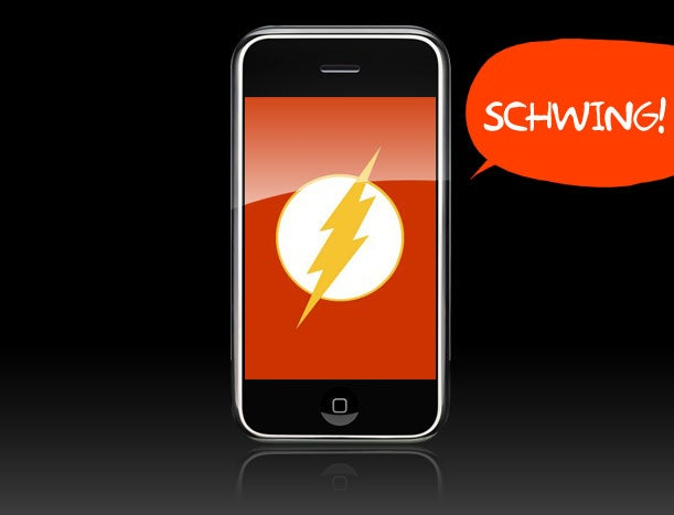 Adobe Developing iPhone Flash Player, No Word on Safari Plug-In