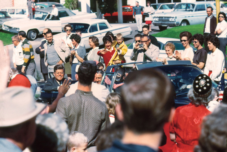 Artist Discovers Unseen Color Photos of JFK's Final Moments
