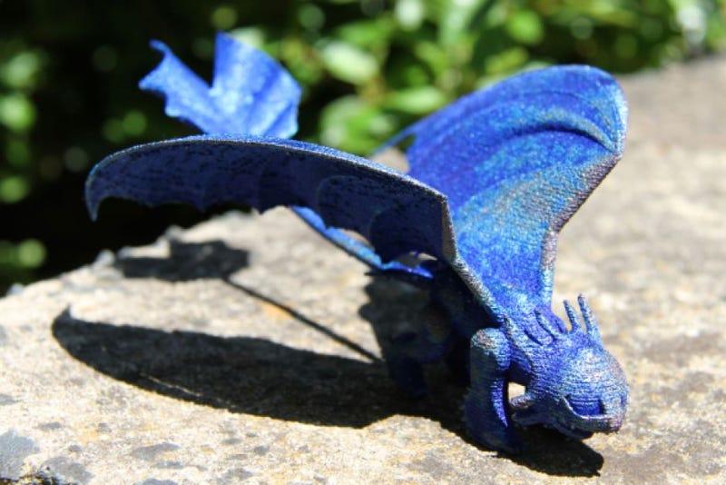 Breaking: Australian scientists make dragon for little girl
