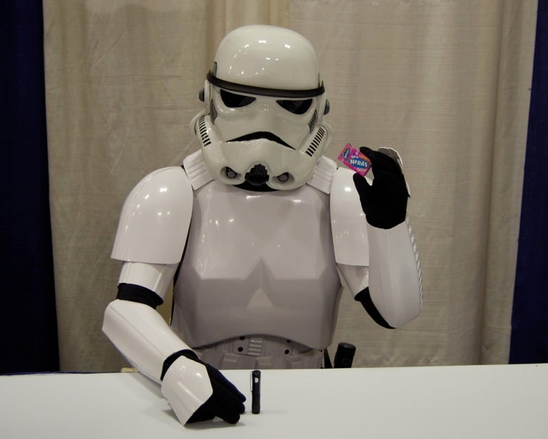 How Would A Stormtrooper Get Naked?