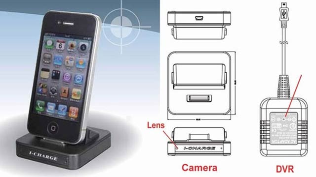 Only the Perviest Pervs Need a Motion-Activated Camera iPhone Dock