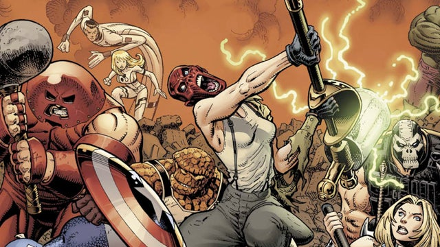 In Wednesday's comics, the Marvel Universe collects hammers to bash heads, not nails