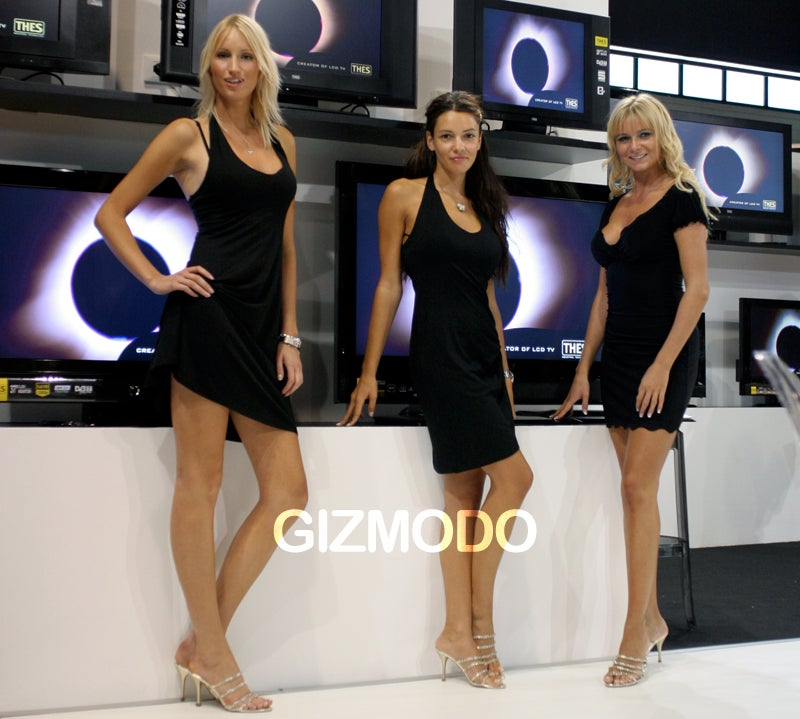 IFA Galactica-Style Building Is Full of Sexy Cylons, Sweet Smiles
