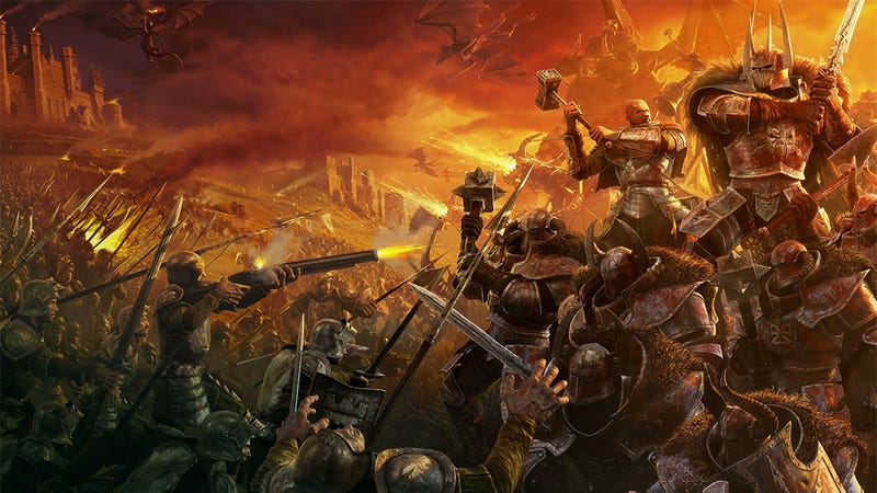 How Warcraft Was Almost a Warhammer Game (and how That Saved WoW)