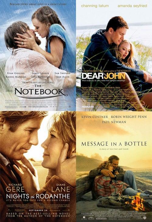 The Unbearable Monotony Of Nicholas Sparks
