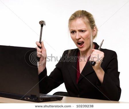 Angry Computer Women