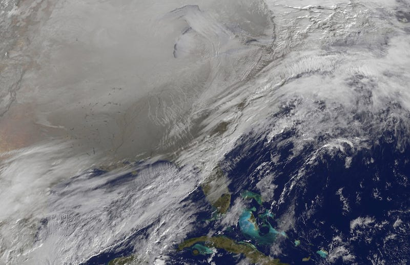 NASA Satellite Photo Proves We're All Frigid and Screwed