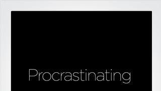 How Procrastination Can Become a Productive Activity