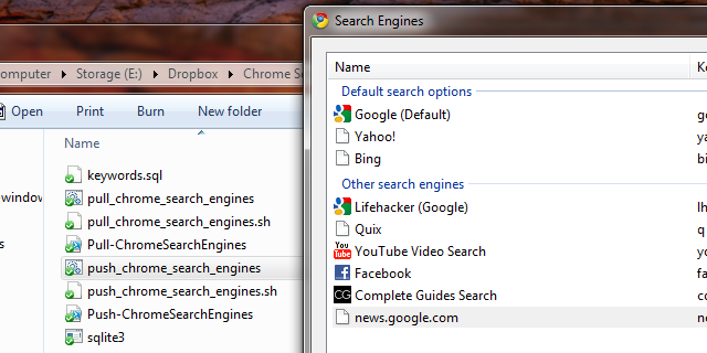 Sync Your Custom Chrome Search Engines Across Windows and Mac Systems