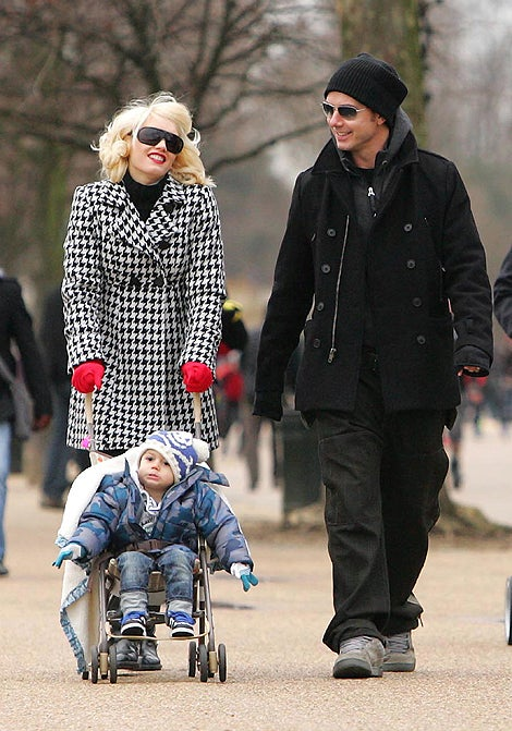A Stroll In The Park With Kingston, Gwen & Gavin