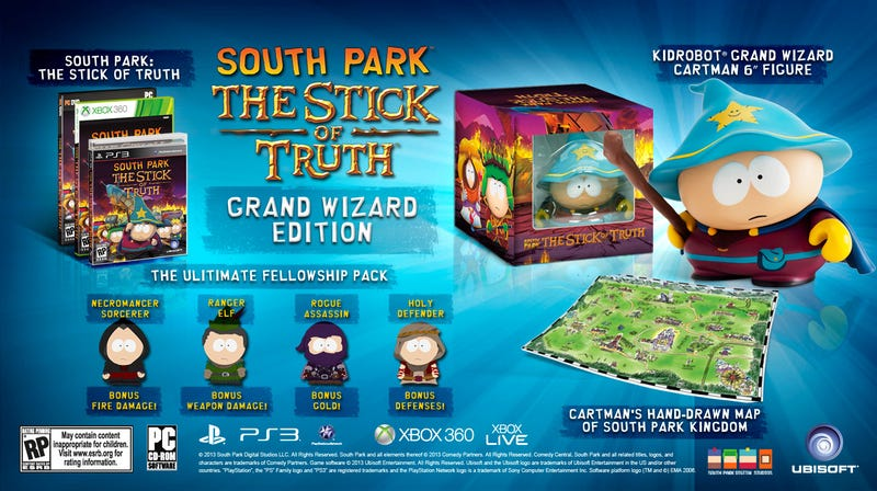 South Park: The Stick Of Truth Is Actually Coming Out