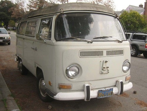1970 Volkswagen Transporter Down On The Alameda Street
